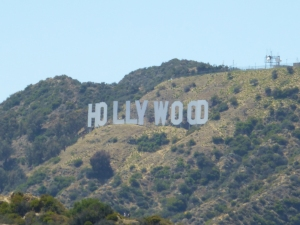 Hollywood Sign at 20x zoom. 6/24/2012