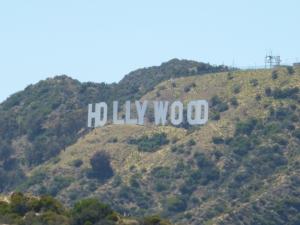 Hollywood Sign at 20x zoom. 6/24/2012
