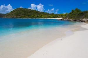 Beach at Green Island Antigua. 2/21/2015