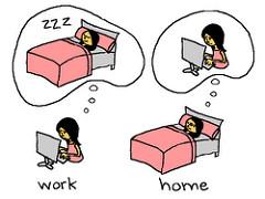 Stress and sleep.