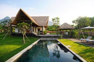 Jeda Villa Bali. Frontview. 3 BR villa. 1/28/2011