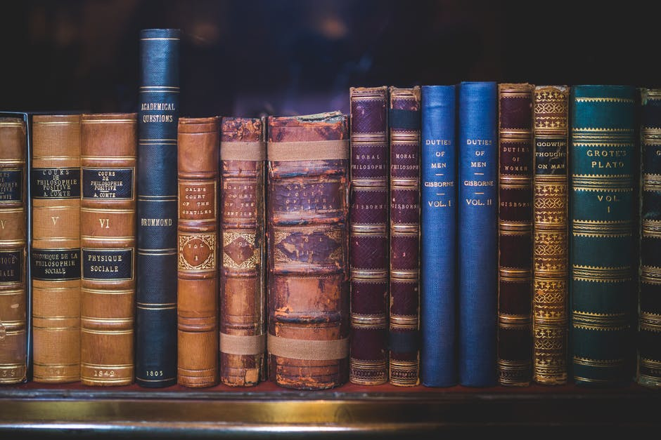 Antique Books. Image source. History buffs ...